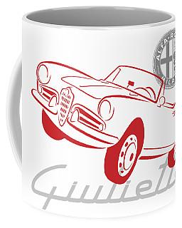 Alfa Giulietta Spider-1 Coffee Mug