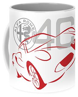 Alfa Romeo 4c-1 Coffee Mug