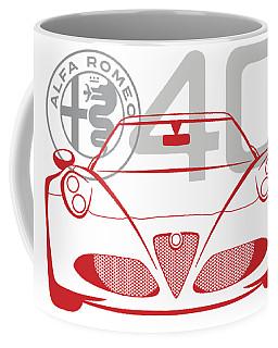 Alfa Romeo 4c-2 Coffee Mug