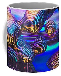 Alien Biometal Blue Coffee Mug