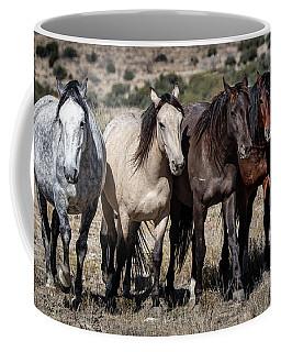 All In A Row Coffee Mug