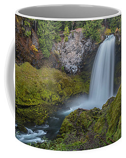 Coffee Mug featuring the photograph All Of Sahalie Falls by Matthew Irvin