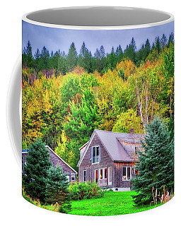 Coffee Mug featuring the photograph All Snuggled In by Lynn Bauer