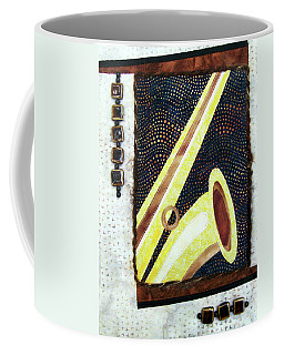 All That Jazz Saxophone Coffee Mug