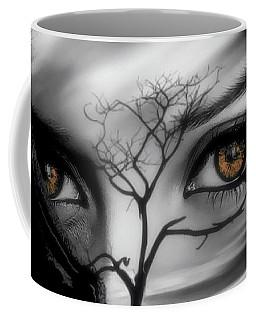 Coffee Mug featuring the digital art Allure Of Arabia by ISAW Company