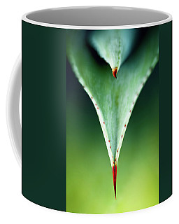 Aloe Thorn And Leaf Macro Coffee Mug
