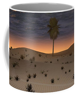 Alone In The Desert Coffee Mug