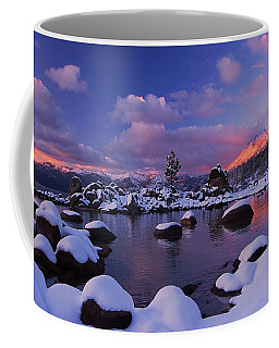 Coffee Mug featuring the photograph Alpenglow Visions by Sean Sarsfield