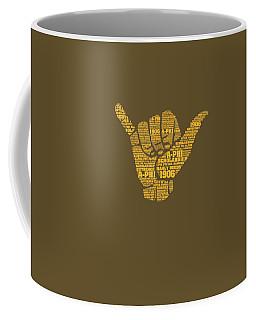 Alpha Phi Alpha Fraternity Hand Sign T-shirt Coffee Mug