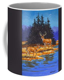 Alpine Refuge Sketch Coffee Mug