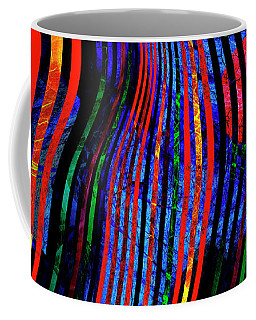 Coffee Mug featuring the digital art Always Between The Lines by Edmund Nagele