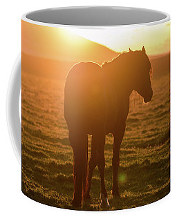 Coffee Mug featuring the photograph Always Shining by Mary Hone