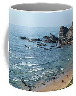 Amalia Beach From Cliffs Coffee Mug