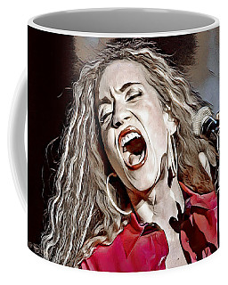 Coffee Mug featuring the digital art Amanda Marshall by Pennie McCracken