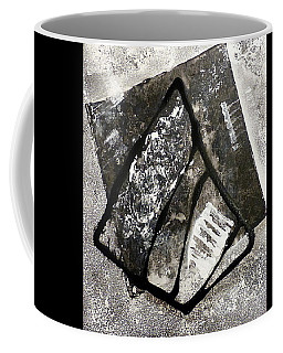 Coffee Mug featuring the painting Amarok by 'REA' Gallery