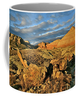 Amazing Clouds Over Ruby Mountain And Colorado National Monument Coffee Mug