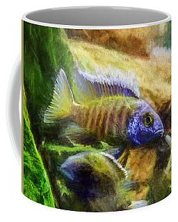 Amazing Peacock Cichlid Coffee Mug