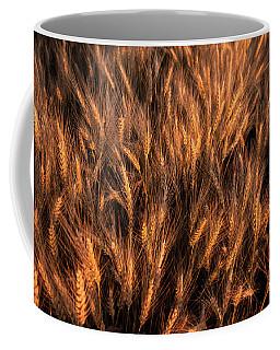 Amber Heads Of Wheat Coffee Mug