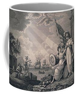 America Guided By Wisdom Coffee Mug