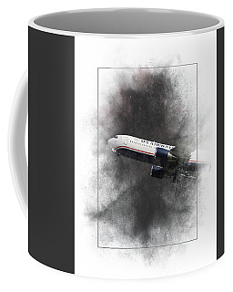 American Airlines Boeing 767-200 Painting Coffee Mug