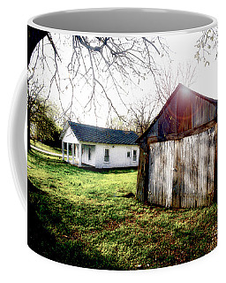 American Fabric   Mickey Mantle's Childhood Home Coffee Mug