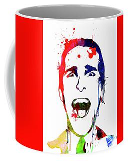 American Psycho Watercolor Coffee Mug