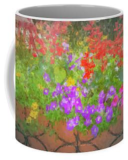 Americana Flower Planters Coffee Mug