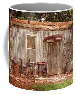 Americana Metal Shed  Coffee Mug