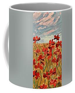Among The Poppies.   2 Of 2 Coffee Mug