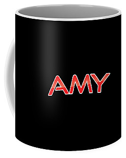 Coffee Mug featuring the digital art Amy by TintoDesigns