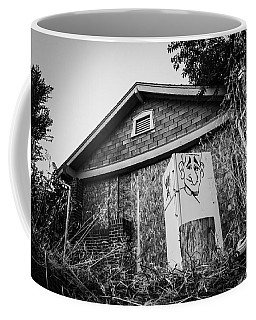 An Abandoned Home With A Personality  Coffee Mug