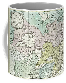 An Accurate Map Of Canada, With The Adjacent Countries, 1761  Coffee Mug