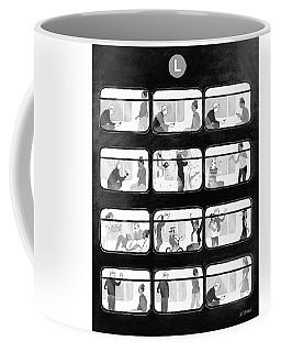 An L Train Love Story Coffee Mug