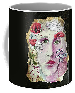 An Old-fashioned Heart Coffee Mug