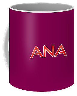 Coffee Mug featuring the digital art Ana by TintoDesigns
