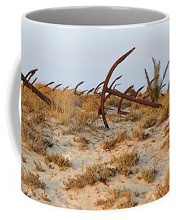 Anchors In Barril Beach Coffee Mug