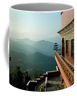 Ancient Buddhist Monastery In Nepal Coffee Mug
