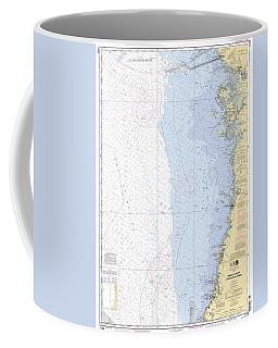 Anclote Keys To Crystal River Noaa Nautical Chart 11409 Coffee Mug