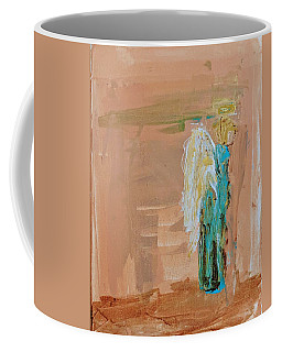 Angel Boy In Time Out  Coffee Mug