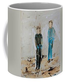Angel Boys On A Dirt Road Coffee Mug