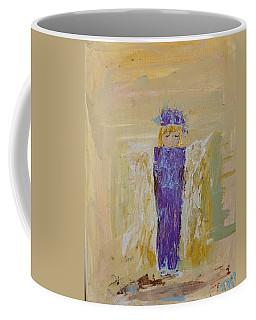 Angel Girl With A Unicorn Coffee Mug