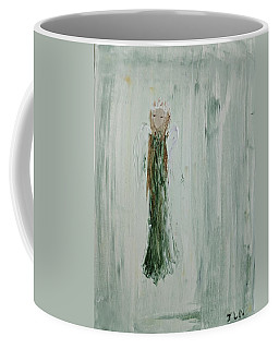 Angel In Green Coffee Mug
