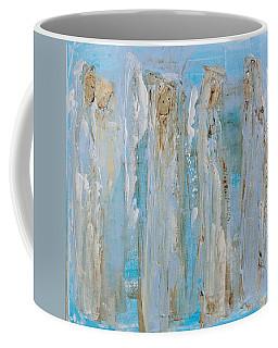 Angels Coming Together Coffee Mug