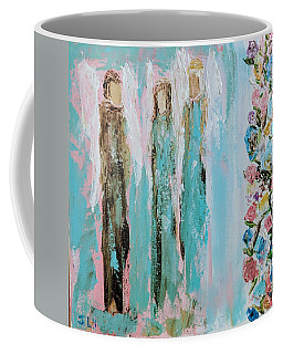 Angels In The Garden Coffee Mug