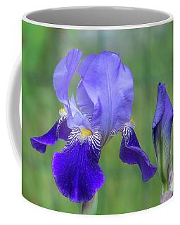 Angie's Iris II Coffee Mug
