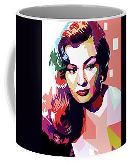 Anita Ekberg Pop Art Coffee Mug