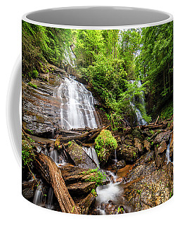 Coffee Mug featuring the photograph Anna Ruby Falls by Andy Crawford