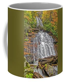 Coffee Mug featuring the photograph Anna Ruby Falls Right by Meta Gatschenberger