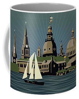 Annapolis Steeples And Cupolas Serenity Coffee Mug