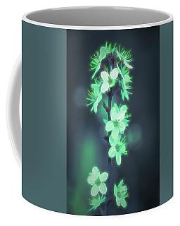Another World - Glowing Flowers Coffee Mug
